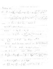 Quantum Mechanics Solutions Exam August 2012