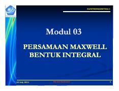 Modul 03 Persamaan Maxwell Integral [Compatibility Mode].pdf