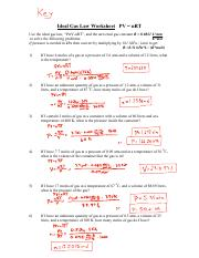 Ideal Gas Law Problems - Key - 7 P 315W R(5ng Po éfiz-ZL ...