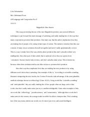 Superieur 1 Pages English Satire Essay