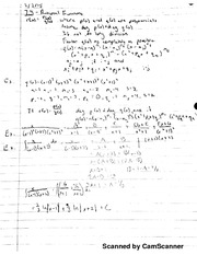 Chapter 7, Section 4 Class Notes: Partial Fractions