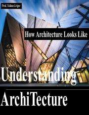 03_How Arch Looks_Notes