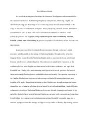 lit essay for contasting houses .docx