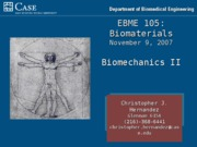 Biomaterials05_BiomechanicsII
