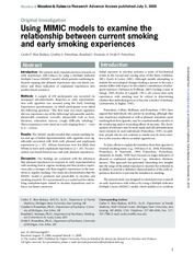 Using_MIMIC_to_examine_current_smoking_and_early_smoking_2009