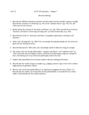 SYST 470 - Chapter 7 - Decision Making (Fall 2015)) (1).docx