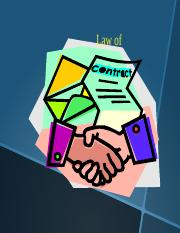 Law of Contract.part1 2014