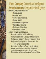 490 02 2015 Company and Industry Competitive Information.ppt