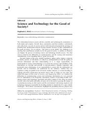 Science and Technology for the Good of Society.pdf
