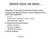 12_Income Statement and Cash Flow Effects
