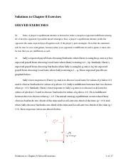 game theory solutions7