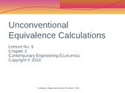 Lecture_No9_Unconventional_Equivalence_C