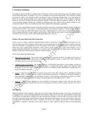 executive summary wk 3