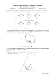 Tutorial Sheet 5-2009