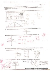trigonometry ch 2quiz