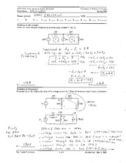ECE 340 - Final Exam with Answers