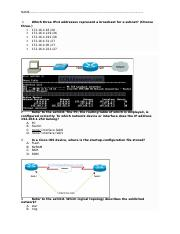 CCNA TEST YOUR SELF.doc
