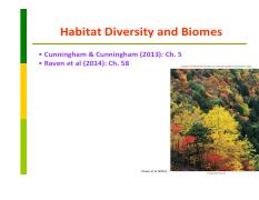 Lecture18 Habitat Diversity and Biomes.pdf