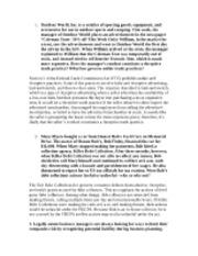 Business law final exam essays