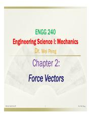 Chapter 2 Force Vectors