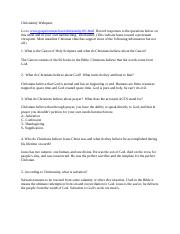 Christianity Webquest Page 1.docx