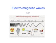 Lecture 11 - EM Waves (Ch. 24.5-24.7)