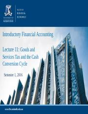 lecture 11- GST and CCC