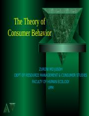 Chapter 4  theory of consumer behavior.ppt