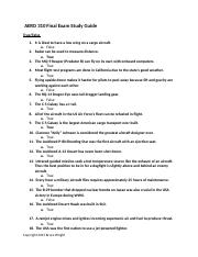 AERO 310 Final Exam Study Guide (1).doc