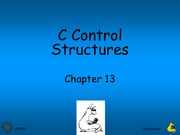 Lecture 5 - C Control Structures