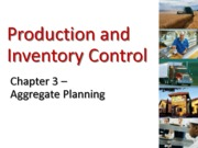 Aggregate production planning p11