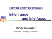 lecture 6 on software and programming I