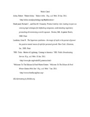 Bibliography for Untitled_ 01_15_11, 10_25AM(2)