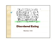 Lect 9 EatingDisorders Oct 19
