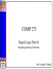 COMP 273 Lecture 6 and 7 - Gateways