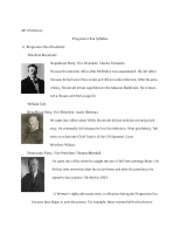Progressive Era Study Guide copy