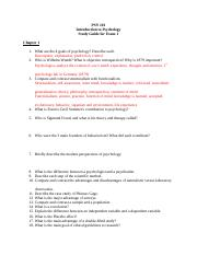 PSY 101 Study Guide 1.docx
