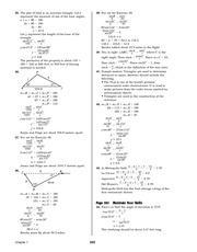 Pre-Calculus Homework Solutions 220