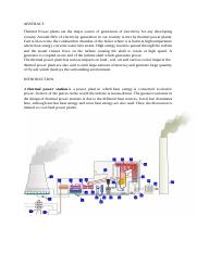 Pollution Control in Thermal Power Plants