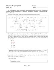 quiz1_solutions on oscillations and waves