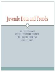 Juvenile Data and Trends