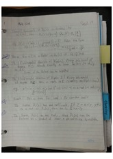 Fundermental theorem of Algebra Class Note