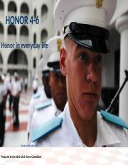 4-6 - honor in everyday life.ppt