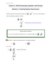Module4_Dividing_Radical_Expressions