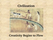 01 Creativity begins to flow lecture