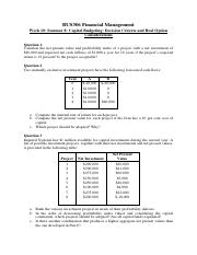 Week 10_Financial Management_Seminar 8_QA.pdf
