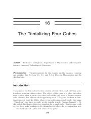 A16 - The Tantalizing Four Cubes.pdf