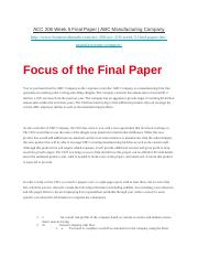 ACC 206 Week 5 Final Paper - ABC Manufacturing Company.docx
