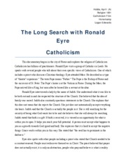The Long Search with Ronald Eyre
