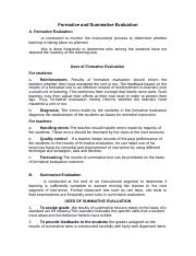 FORMATIVE AND SUMMATIVE EVALUATION(FACT SHEETS) (1).docx